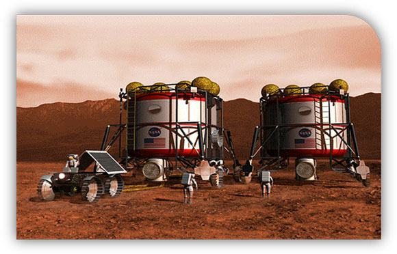 Future Converged: Mars Colony